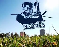 Tuesday, July 31- 31 Heroes WOD