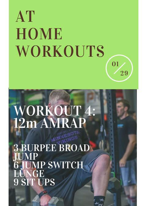 At Home WOD 4