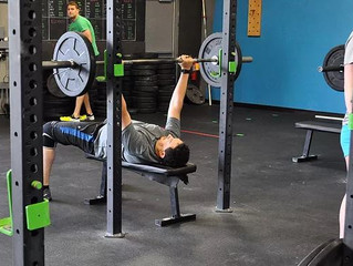 Friday 7/28/17 - Lift the Bar, Lift your Body