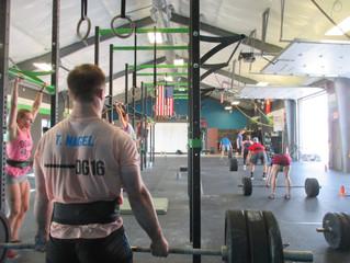 Tuesday 8/1/17 - Thruster Ladder