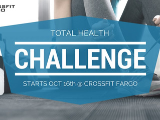 [Nutrition Challenge] Total Health Challenge Starts Oct 16