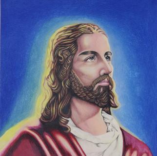 Jesus Portrait Amy's Pencil Portraits .j