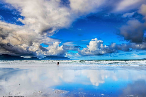 Father and Child - Inch Beach - County Kerry