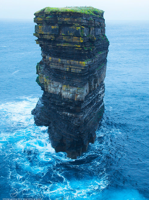 Seastacks -Downpatrick - County Mayo
