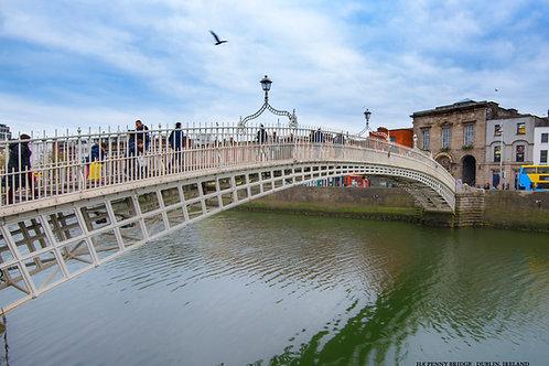 The Ha' Penney Bridge - Dublin
