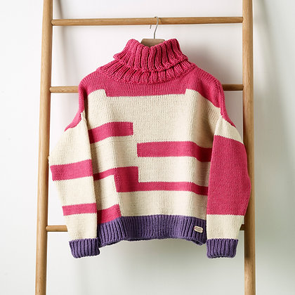 Rafter Jumper in Raspberry