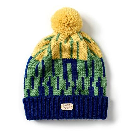 Bobble Hat in Meadow