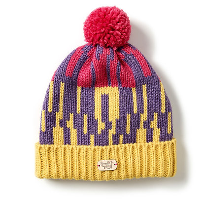 Bobble Hat in Wildflower