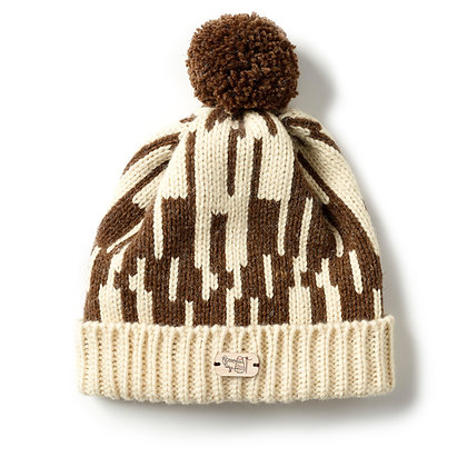 Bobble Hat in Mocha