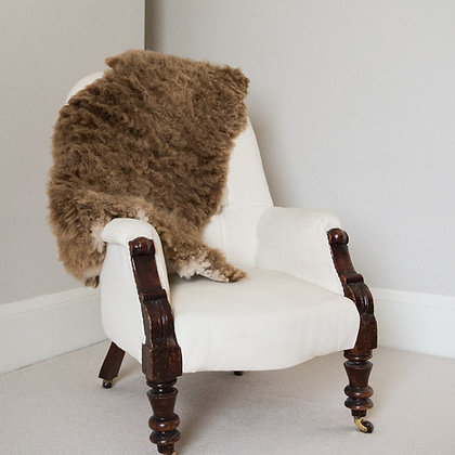 Sheepskin Rug, Brown
