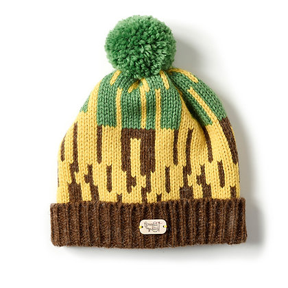 Bobble Hat in Woodland