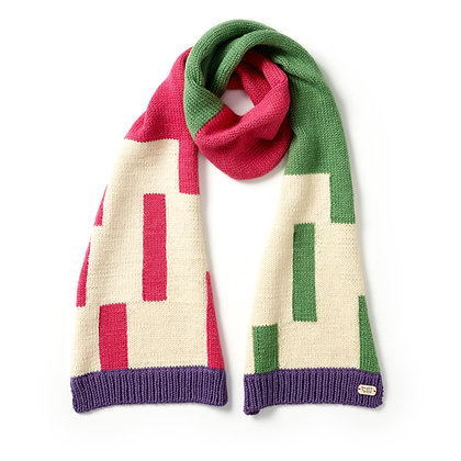 Rafter Scarf in Hedgerow
