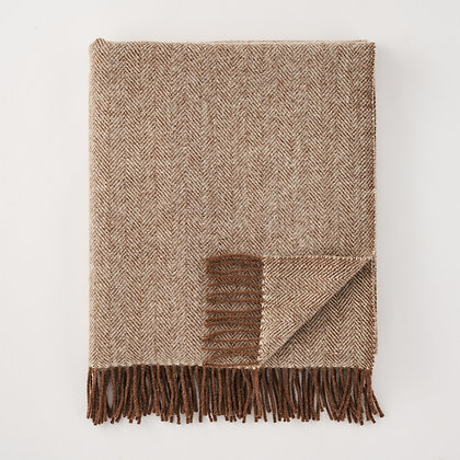 Herringbone Throw