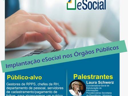 """ASPREVPB promove curso gratuito """"Implantação do eSocial nos Órgãos Públicos"""" - inscrições encerradas"""
