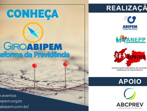 """Abipem, ASPREVPB e Anepp promovem Curso sobre a """"Nova Previdência"""" em João Pessoa"""