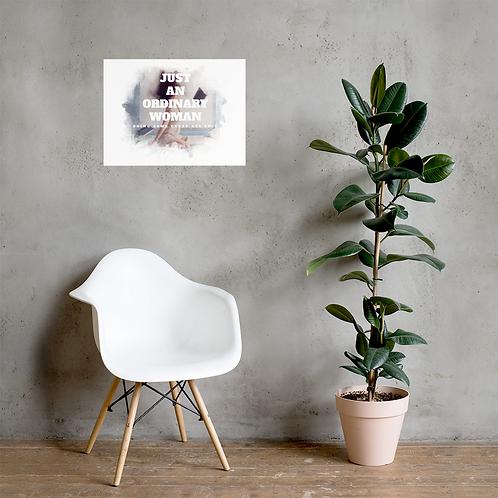 Premium Luster Photo Paper Poster