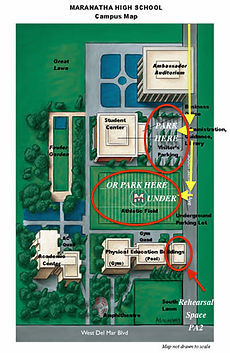 St Norbert Campus Map.Domino1 Auditions