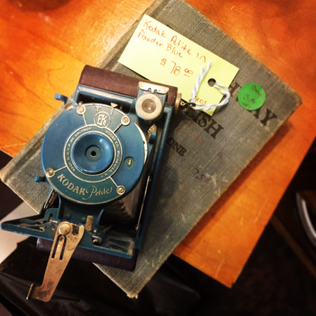 Finding the Perfect Antique Camera