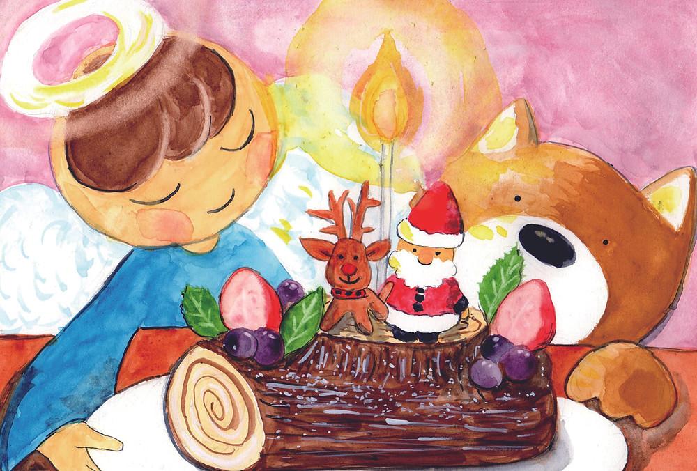 天使とくまえるのクリスマス