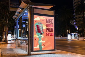 bus-stop-billboard-mockup-in-city-at-nig