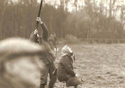 Tracking a high pheasant