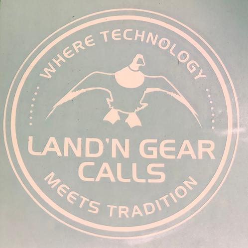 Land'N Gear Calls Sticker