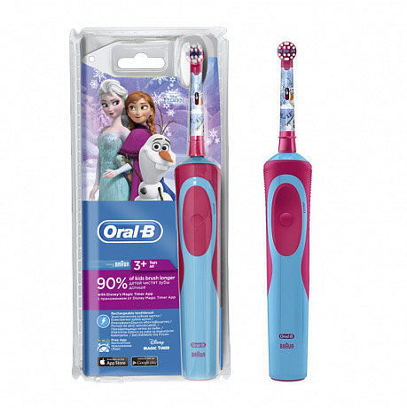 Braun Oral-B Stages Power Frozen Kids D12.513 (Детская эл/щетка)