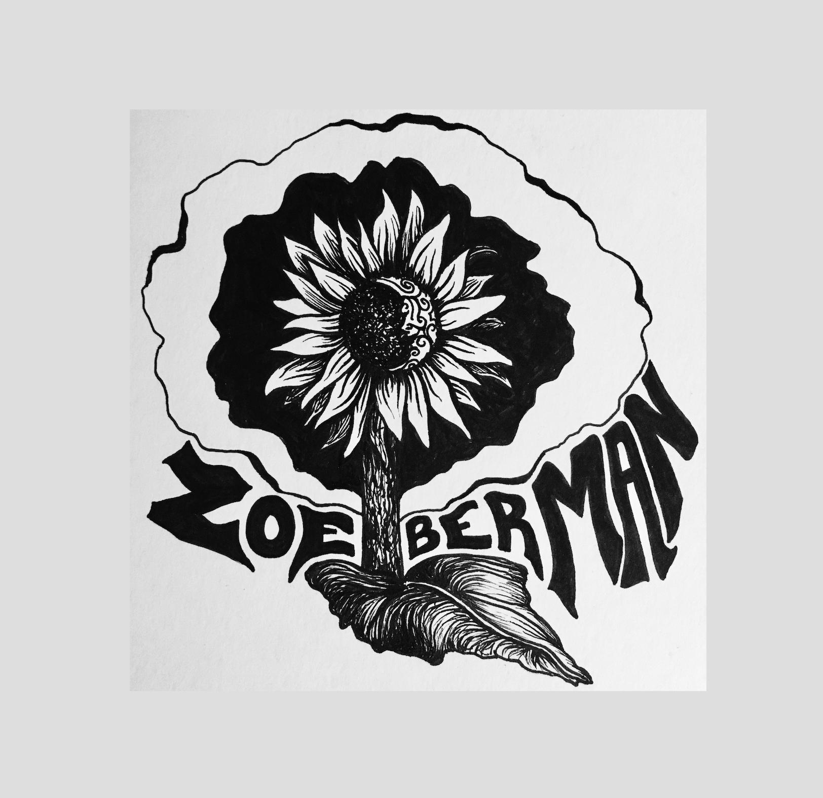 Vinyl Sunflower Sticker