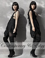 Contemporary, modern and edgy Fashion by ROHMY Couture
