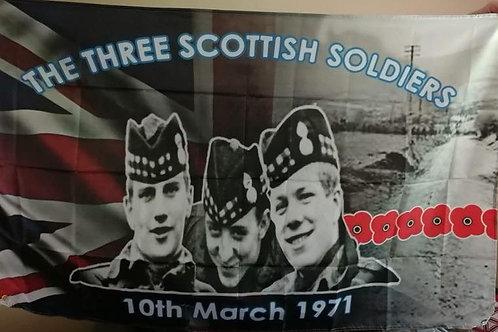 Three Scottish Soldiers Flag