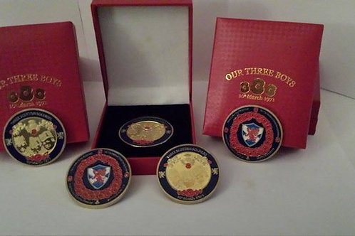 Official Commemorative Coin in display box