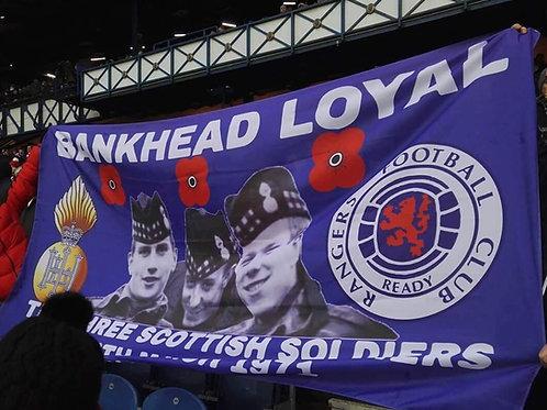 Custom Football Supporters Club Flag