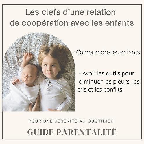 Ebook : Les clefs d'une relation de coopération avec les enfants
