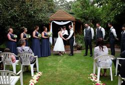 Adam & Kristi, Blue Wren Tea Gardens