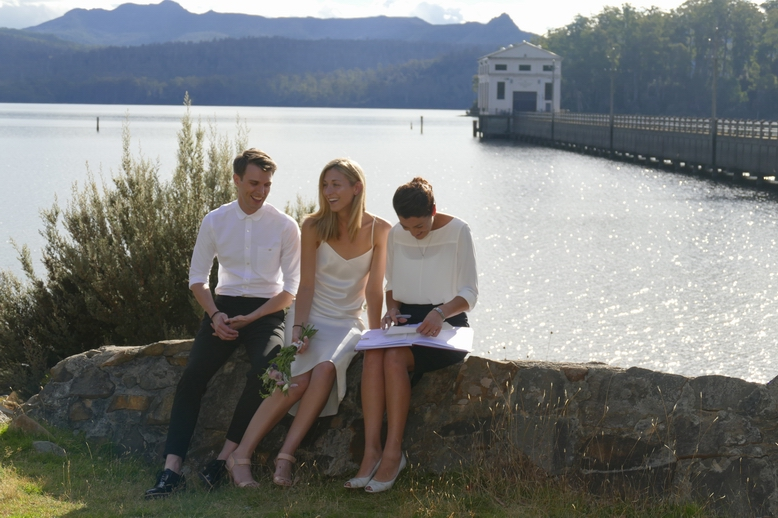 Brady & Alex, Pumphouse Point Hotel