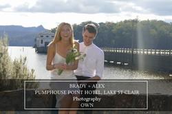 Brady & Alex, Pumphouse Point Hotel