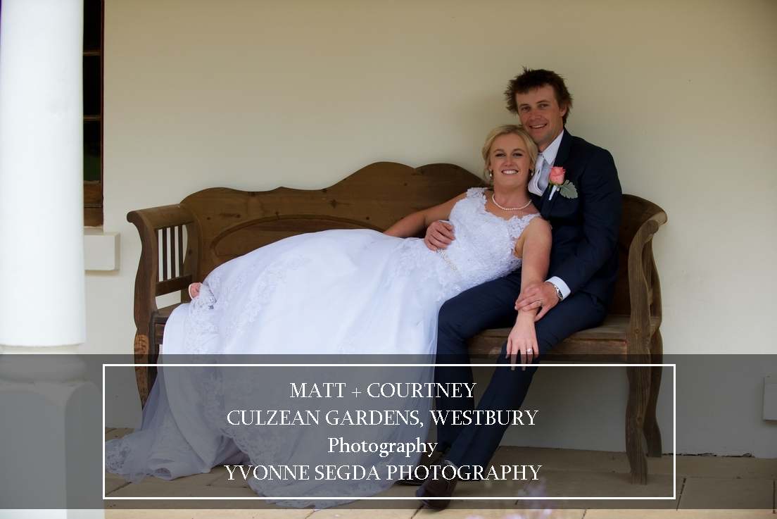 Matt & Courtney, Culzean Gardens