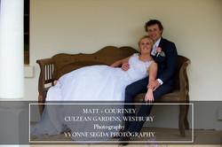 Matt & Courtney, Culzean Gardens