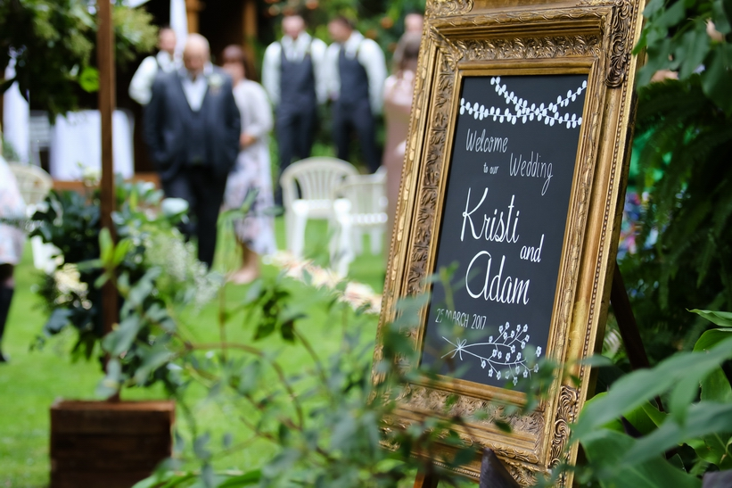 Adam & Kristi, Blue Wren Tea Gardens