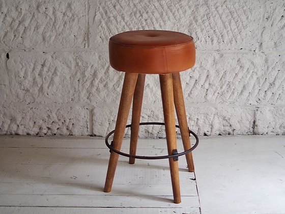 LIFE / SF LEATHER HIGH STOOL