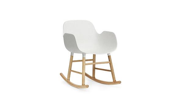 normann / Form Rocking Armchair - Oak - Whit