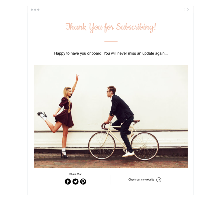 Wix ShoutOut automated emails