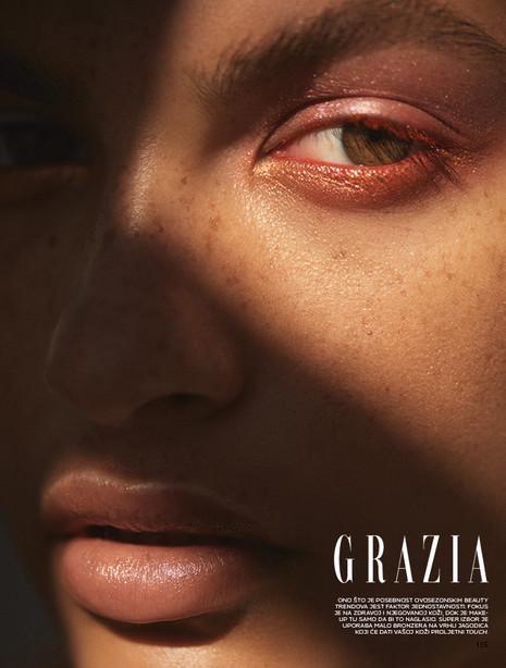 Caitlin Lamb for Grazia Croatia