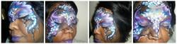 prple & blu collage