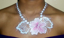 pearls and tattered lace