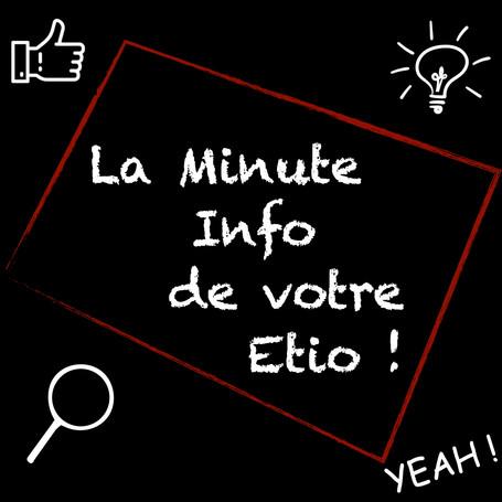 La minute Info de votre Étio : Lombalgie