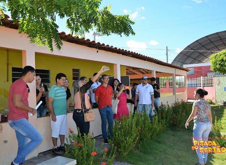 IFPB campus de Souza realizada aula na Associação Pisada do Sertão.