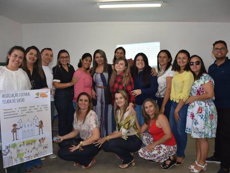 Pisada do Sertão realiza mais um encontro de formação em rede do programa Semear