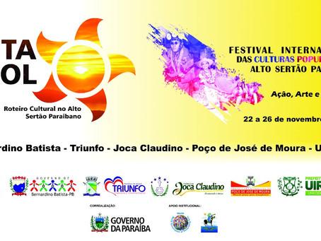Alto Sertão Paraibano será palco principal da Rota do Sol
