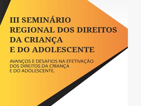 A Associação Cultural Pisada do Sertão promoverá Seminário Regional sobre Direitos das Crianças e Ad